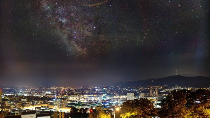 Milkyway Core over Zurich