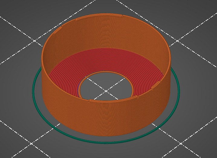 3D Print Preview in PrusaSlicer
